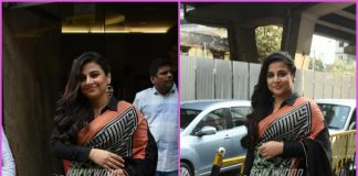 Vidya Balan all smiles during promotions of Tumhari Sulu – PHOTOS