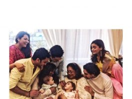 Alia Bhatt and Varun Dhawan spend Diwali with Karan Johar's twins