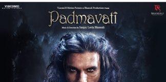 Ranveer Singh's intense looks in Padmavati unveiled in new poster