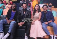 Riteish Deshmukh and Arko Parvo Mukherjee have fun on sets of Sa Re Ga Ma Pa L'il Champs