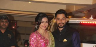 Soha Ali Khan and Kunal Kemmu attend Diwali puja at Kareena Kapoor's residence