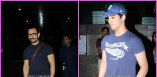 Aamir Khan and Aarav Bhatia on a casual outing in Mumbai – PHOTOS