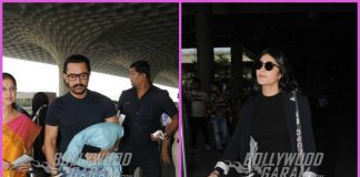 Aamir Khan and Shruti Haasan on travel schedules – PHOTOS