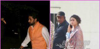 Alia Bhatt and Abhishek Bachchan on a busy weekday – PHOTOS