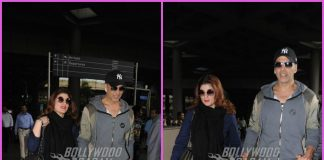 Akshay Kumar and Twinkle Khanna walk hand in hand at the airport – PHOTOS