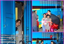 Alia Bhatt greeted by children outside studio – PHOTOS