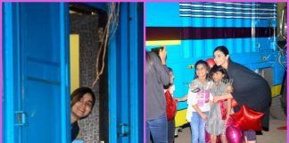 Alia Bhatt greeted by children outside studio – PHOTOS