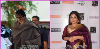 Amitabh Bachchan and Vidya Balan busy at work – PHOTOS