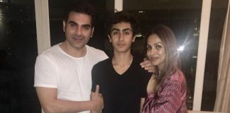 Arbaaz Khan and Malaika Arora celebrate son Arhaan's birthday together
