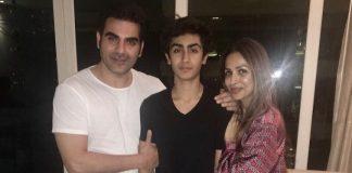 Arbaaz Khan and Malaika Arora celebrate son Arhaan's birthday together