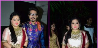 Bharti Singh and Haarsh Limbachiyaa celebrate and dance at Mata Ki Chowki – PHOTOS