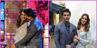 Bipasha Basu and Karan Singh Grover have fun on sets of The Drama Company