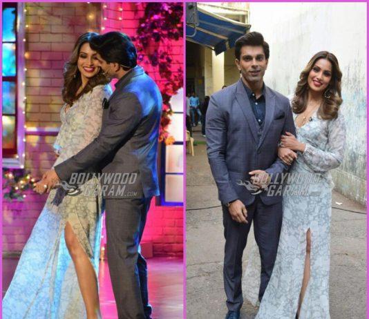Bipasha Basu and Karan Singh Grover have fun on sets of The Drama Company