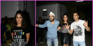 Lead actors of Fukrey Returns pose at a popular studio – PHOTOS