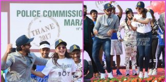 Hrithik Roshan and Jacqueline Fernandez flag off marathon in Mumbai – PHOTOS