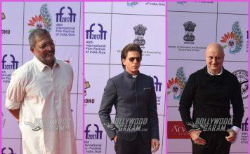 Shah Rukh Khan, Smriti Irani and others grace IFFI 2017 – PHOTOS