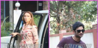Sushant Singh Rajput and Iulia Vantur spend casual time in Mumbai