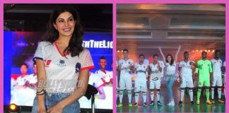 Jacqueline Fernandez becomes proud brand ambassador of Delhi Dynamos, unveils new kit for season 4 – PHOTOS