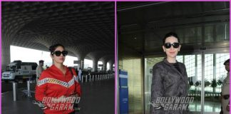 B'town divas Karisma Kapoor and Sridevi make a fashion splash at airport – PHOTOS