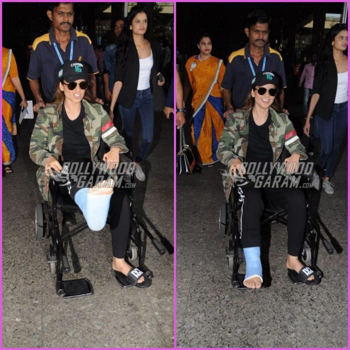 Kangana Ranaut injured