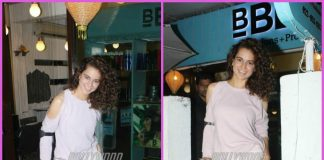 Injured Kangana Ranaut visits a salon – PHOTOS