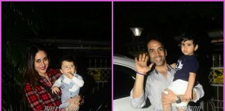 Kareena Kapoor and Tusshar Kapoor on an outing with children – PHOTOS