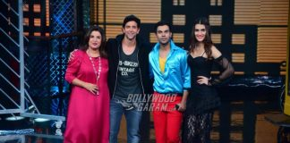 Hrithik Roshan, Rajkummar Rao and Kriti Sanon have fun on sets of Lip Sing Battle – PHOTOS