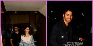 Madhuri Dixit spends time with family while Varun smiles for the shutterbugs – PHOTOS