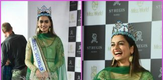 Miss World 2017 Manushi Chhillar hosts press conference – PHOTOS