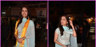 Miss World 2017 Manushi Chhillar visits Siddhivinayak temple with family – PHOTOS