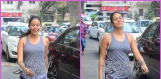 Mira Rajput caught with a killer smile outside a café – PHOTOS