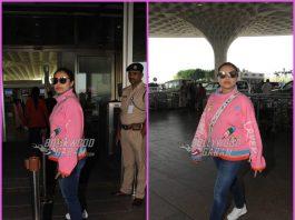 Rani Mukherji back to work, leaves for London in sporty wear – PHOTOS