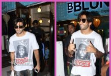 Photos: Ranveer Singh sports a new look coming out of B Blunt salon post Padmavati shoot wrap