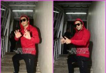 Ranveer Singh looks suave at work in red hoodie – PHOTOS