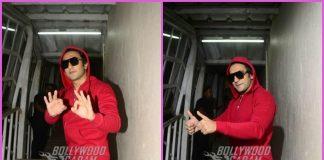 Ranveer Singh looks suave at work in red hoodie – PHOTOS