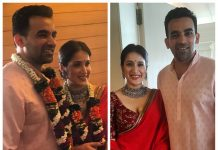 Sagarika Ghatge and Zaheer Khan get married in court