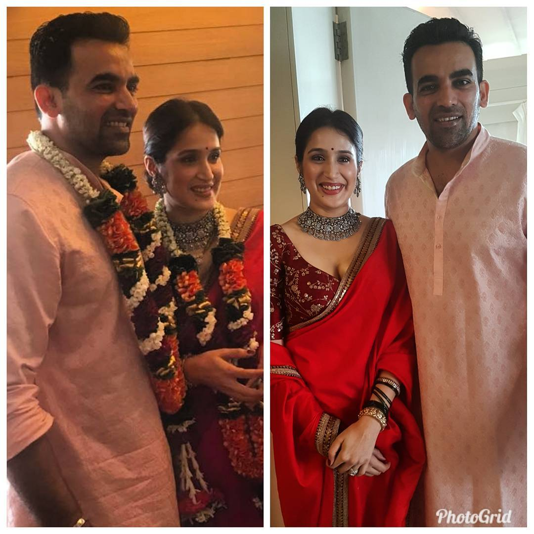 Actress Sagarika Ghatke Ties The Knot With Zaheer Khan