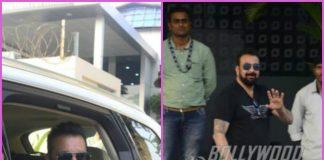 Sanjay Dutt makes a stylish appearance at airport – PHOTOS