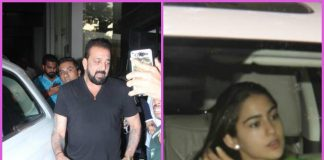Sanjay Dutt and Sara Ali Khan at work on a busy weekday – PHOTOS