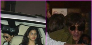 Shah Rukh Khan and family return from Ahmedabad – PHOTOS