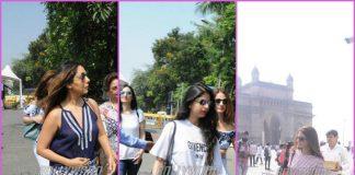 Gauri Khan, Suhana Khan leave for Shah Rukh Khan's birthday bash – PHOTOS