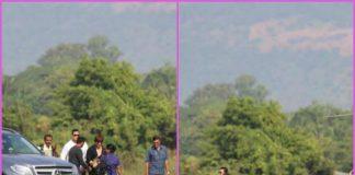 Shah Rukh Khan and son AbRam leave for Mumbai on a chopper – PHOTOS