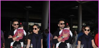 Shahid Kapoor, Mira Rajput and Misha return from Delhi wedding – PHOTOS