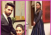 Shahid Kapoor and Mira Rajput look ravishing in their outfits dressed for a wedding