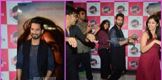 Shahid Kapoor promotes Padmavati at Fever FM – PHOTOS