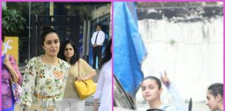 Shraddha Kapoor blushes while Alia Bhatt busy working out – PHOTOS