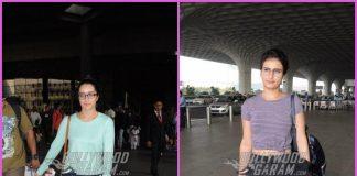 Shraddha Kapoor and Fatima Sana Sheikh dazzle at the airport – PHOTOS