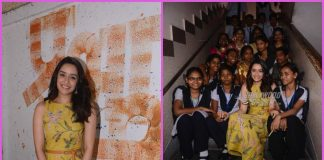 Shraddha Kapoor celebrates Children's Day with children at school – PHOTOS