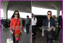 Shraddha Kapoor and aunt Padmini Kolhapure stun at the airport – PHOTOS