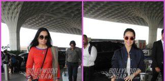 Shraddha Kapoor and aunt Padmini Kolhapure stun at the airport – PHOTOS